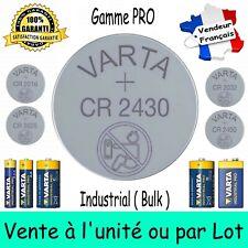 Piles Lithium VARTA CR2430 CR2450 CR2032 CR2025 CR2016 - LR3 LR6 LR14 LR20 6LR61