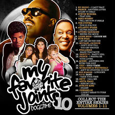 My Favorite Joints Vol 10 Old School Mix Edition Mixtape CD