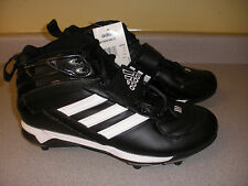 383367 NIB Adidas 10 1/2 Mens Mayhem Mid D Cleats Shoes