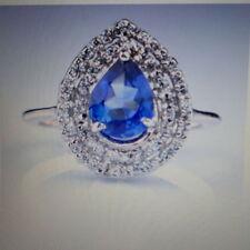 Diamond Engagement Natural Fine Gemstone Rings