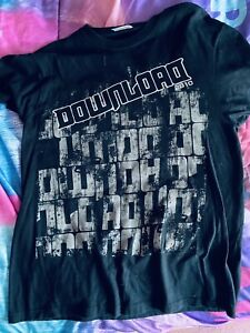 download festival t shirt Small 2010