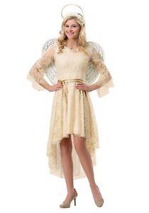 Women's Lace Angel Costume