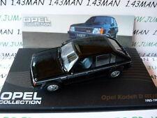 voiture 1/43 IXO eagle moss OPEL collection : KADETT D GT/E 1983/1984