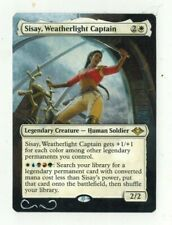 Sisay Weatherlight Captain Altered Full Art MTG Magic Commander 2020 EDH Gift