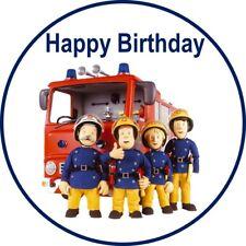 Fireman Sam Edible Image party Cake Topper