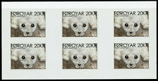 Faroe Islands Faroes Wild Animals Stamps 2020 MNH Seal Pup Norden 6v S/A Booklet