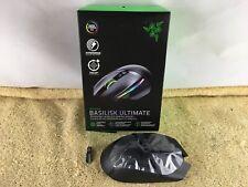Razer Basilisk Ultimate Ergonomic Wireless Optical Gaming Mouse - Black - USED