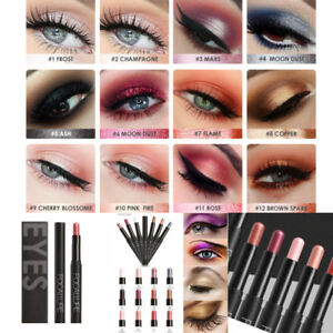 Focallure Matte / Shimmer EYESHADOW Crayon Cream Stick Makeup