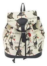 Tapestry Catitude Small Cat Design Backpack by Signare Approx 28cm X 32cm