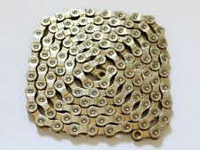 Narrow Bicycle Chain 9 Speed 114 Links Silver OEM