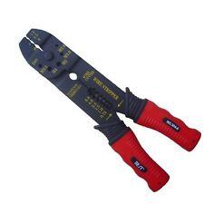 Buen agarre manejar Heavy Duty Eléctrica Wire Stripper cortador arrugador del Reino Unido