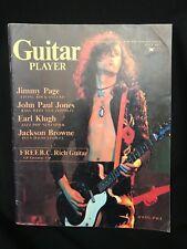 Guitar Player Magazine July 1977 Led Zeppelin Jimmy Page John Paul Jones