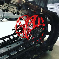 """Billet Snowmobile Big Wheels 8"""" HyperNova (12 Colors To Pick From!)"""