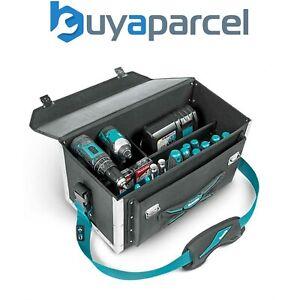 Makita E-05424 Lockable Tool Case Tool Bag Blue Riveted Toolbag Strap System