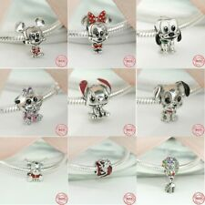 Charm Pandora / Disney Mickey Mouse Minnie / Silber 925