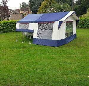 Conway Challenger Folding Camper/Trailer Tent with Awning and Kitchen
