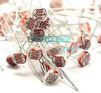100PCS Photo Light Sensitive Resistor Photoresistor Optoresistor 5mm GL5549 new