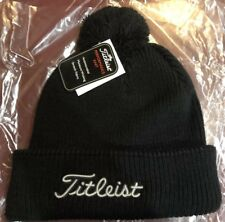 f82fa59333c Titties winter hat beanie PGA Titleist theme bubble hat wool White Navy  Bachelor