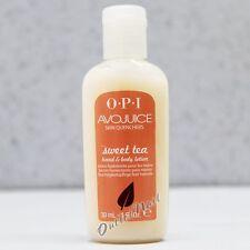 OPI Avojuice SWEET TEA Skin Quenchers Hand & Body Mini Sample Lotion 30 mL 1 oz