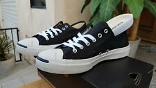1Q699 Converse Jack Purcell CP Canvas Black White Low Classic 7 Mens - 8.5 Women