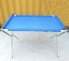 1X Foldable Blue Table For Market Stall,Camping,Picnic 2M