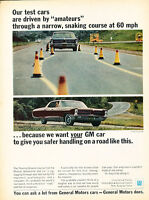 1966 Pontiac Bonneville - Vintage Advertisement Car Print Ad J499
