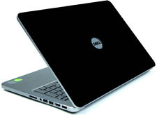 BLACK Vinyl Lid Skin Cover Decal fits Dell Inspiron 15 7537 Laptop