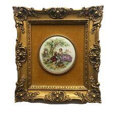 Vintage French Victorian B&S Creations NY Limoges Porcelain Fragonard #560
