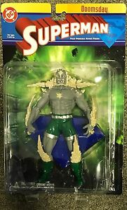 (2003) DC Direct SUPERMAN Series 1 DOOMSDAY Action Figure! MOC! Rare!