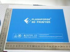 Flashforge Dreamer, Creator Pro Build Plate Sticker