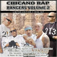 Various Artists - Chicano Rap Bangers 2 / Various [New CD] Explicit, Ltd Ed, Box
