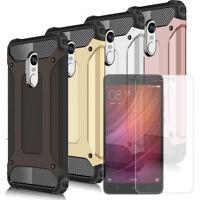 Coque Téléphone pour Xiaomi Redmi Note 4 Avec Film Protecteur d'écran Anti Chocs