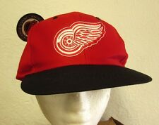 DETROIT RED WINGS winged wheel cap NHL snapback hockey hat Logo 7 classic NWT
