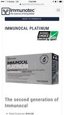 Immunocal Platinum and Immunocal Classic bundle 2 boxes 60 pouches 1 cup.
