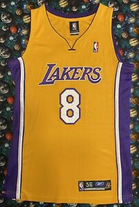 Authentic Vintage Reebok NBA Los Angeles Lakers Kobe Bryant Basketball Jersey