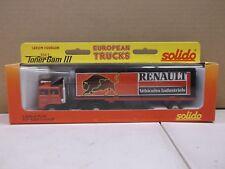 Solido Toner Gam III Black Renault European Trucks Iveco Motoroom No. 3504 Metal