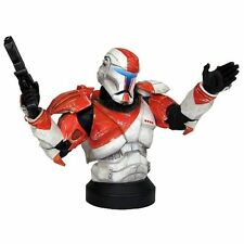 STAR WARS - GENTLE GIANT - REPUBLIC COMMANDO - BOSS - MINI BUST - NEW & SEALED
