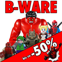 B-WARE Minifiguren Batman Spiderman Ninjago Star Wars Marvel DC Bausteine