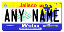 Jalisco Mexico Auto Novelty License Plate