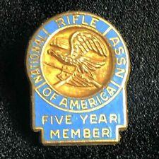 National Rifle Association Five Year Member Pin