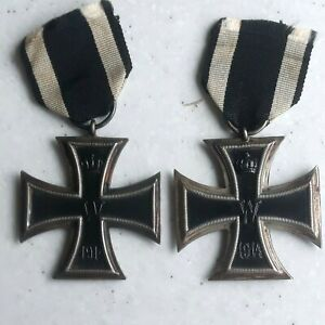 Two WW1 German Iron Cross