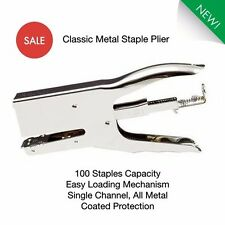 Heavy Duty STAPLER -Strong Metal PLIER STAPLER, Upholstery-25 SHEET Stapling Gun
