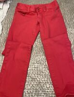 lilly pulitzer Skinny Worth Straight Jean Size 4 Hot Pink