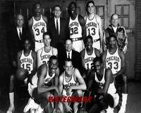 1961 - 62 ABL Chicago Majors Team Picture Black & White 8 X 10 Photo Picture