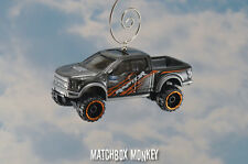 2017 Ford F-150 Raptor Crew Ext Cab Pickup Truck Custom Christmas Ornament 1/64