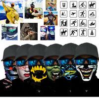 Skull Motorcycle Cycling Neck Scarf Half Face Mask Bandana Ski Sports Headband