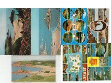 10 postcards Jersey Kitchen Bedroom Museum needle Portlet corbiere map Janvrin