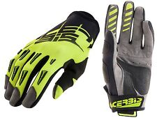 GUANTI MOTO ENDURO CROSS ACERBIS MX2 2017 NERO GIALLO  FLUO GLOVES TG XXL