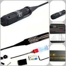 Real Hunting Gun Laser Bore Sighter Green Dot Boresighter Kit .22 to.50 Caliber