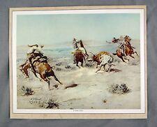 Vintage 1971 Charles M. Russell A Loose Cinch Western Calendar Top Print